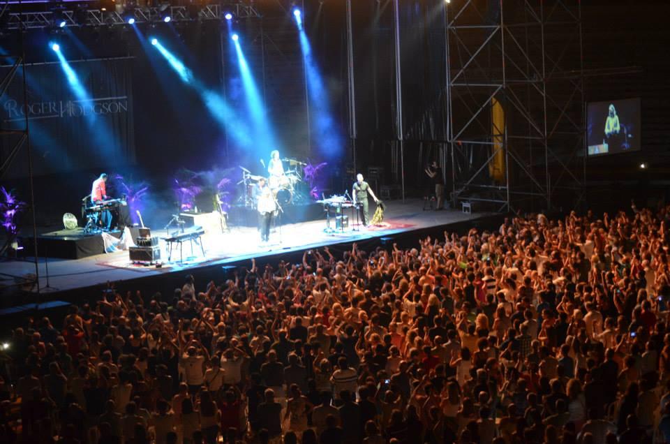RogerHodgson com - Reviews - Plaza de Toros ~ Murcia, Spain