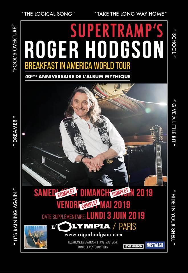 Rogerhodgson News