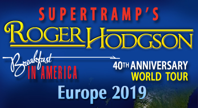 Supertramp Tour 2020 Tour   Roger Hodgson, former vocalist and songwriter from Supertramp.